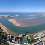 Fermeture de la plage d'Oualidia