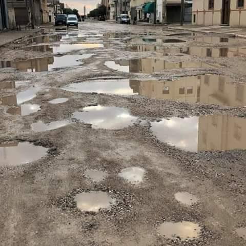 El Jadida : Les dernières pluies mettent à nu la réalité des infrastructures des boulevards de la ville
