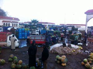 El Jadida : Le marché de gros, une situation provisoire qui s'éternise