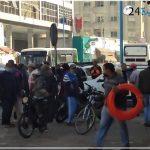 Grave accident à la gare routière d'El-Jadida.