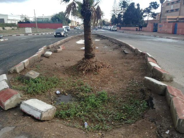 Le «fameux» rond-point de l'avenue Al Massira d'El-jadida