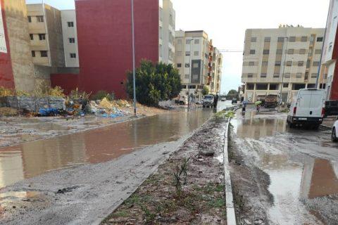 El Jadida : La réalité de l'infrastructure de base mise à nu suite aux dernières précipitations